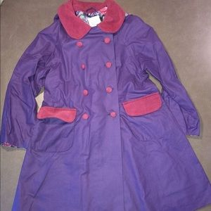 Laura Ashley Girls Raincoat